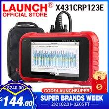 Lancio X431 CRP123E OBD2 Scanner per auto OBD OBDII motore ABS Airbag SRS trasmissione strumenti diagnostici aggiornamento gratuito Online PK CRP123X