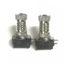 H11B Fog lights 555lm 80w auto led light bulbs for cars LED Car lamp 2pc/lot