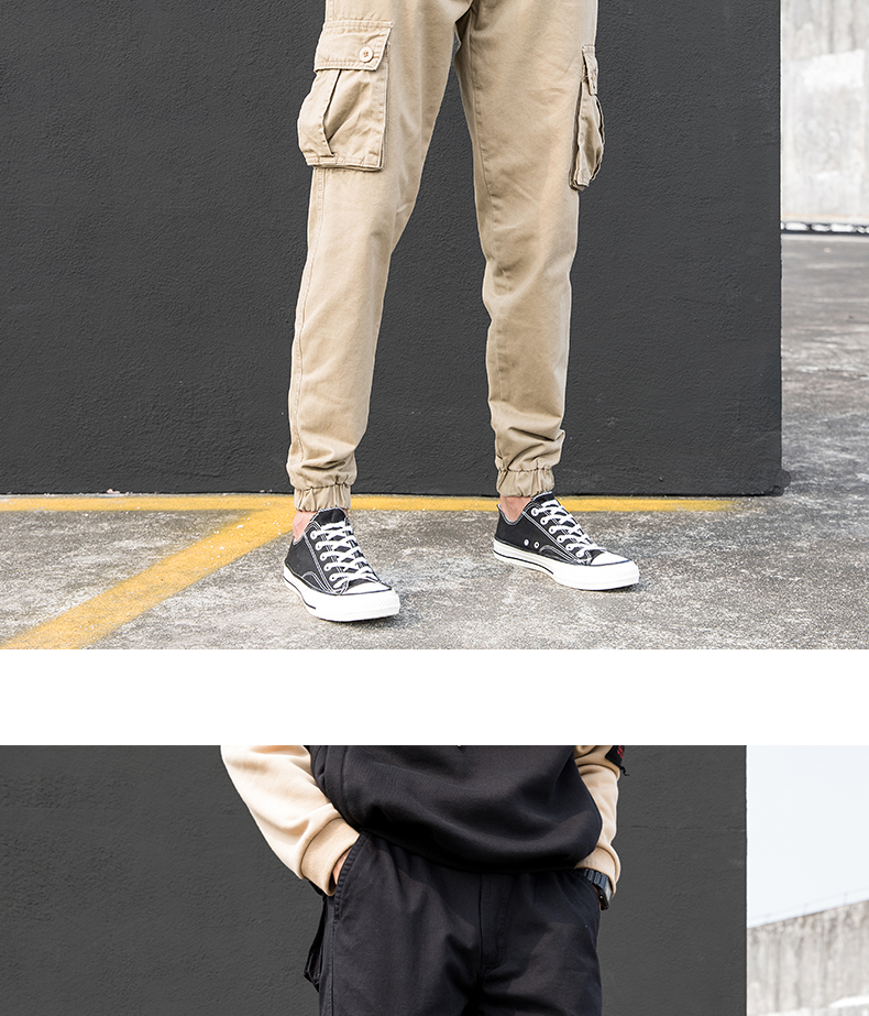 KSTUN Cargo Pants Men Summer Thin Male Overalls Loose fit Trousers casual pants joggers men's clothing brand soft 100% cotton 21