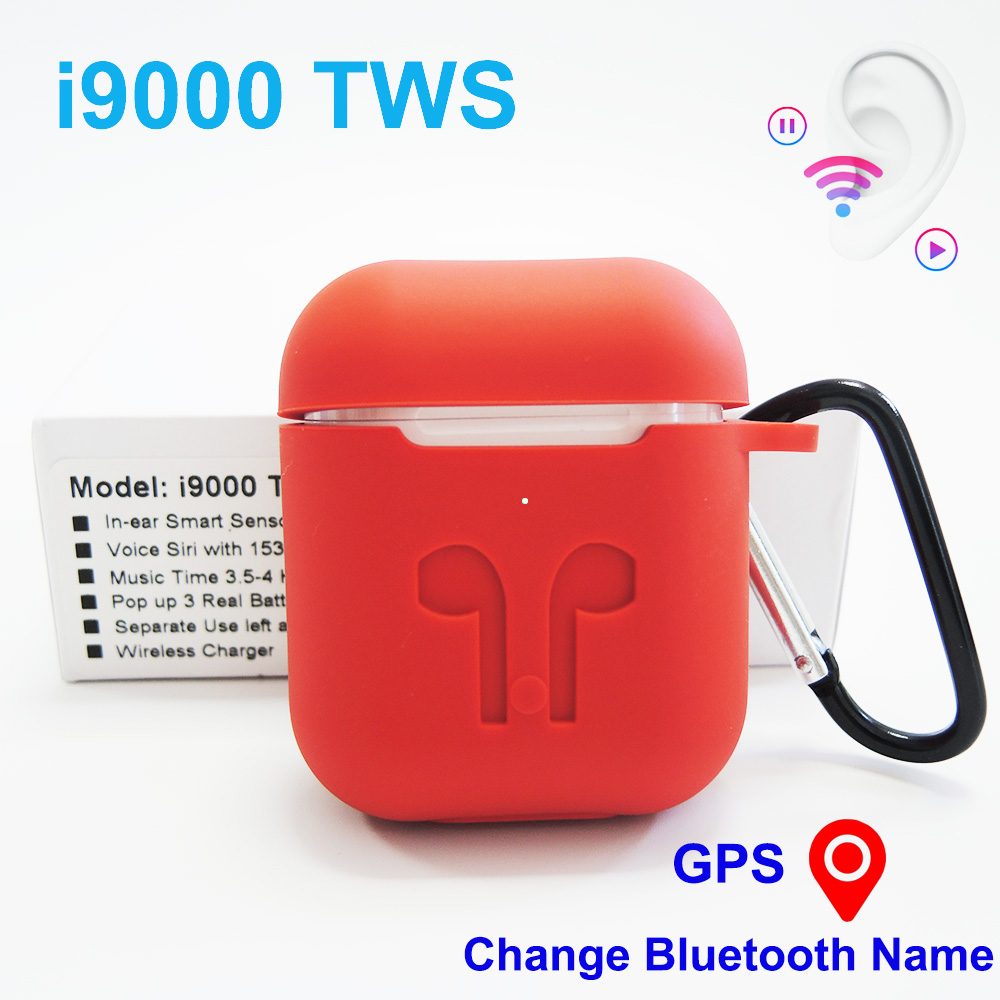 i9000 <font><b>tws</b></font> Smart sensor 1:1 Bluetooth Wireless Earphone 6D Super Bass PK W1 H1 Chip pk <font><b>tws</b></font> i100 i200 i500 i1000 <font><b>i90000</b></font> Pro <font><b>tws</b></font> image