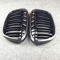 Carbon Racing Grille For Bmw F20 F22 E46 E90 E92 F30 F34 F32 G30 E39 E60 F10 E84 F48 X3 X4 X5 X6 F06 F12 F01 F07 Car Front Grill