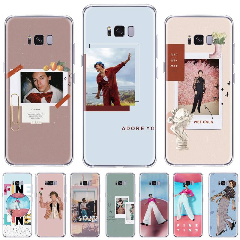 <font><b>Harry</b></font> <font><b>Styles</b></font> TPU Soft Silicone <font><b>Phone</b></font> <font><b>Case</b></font> Cover For <font><b>Samsung</b></font> <font><b>S5</b></font> S6 S7 S8 S9 S10 e S20 Ultra edge plus lite image