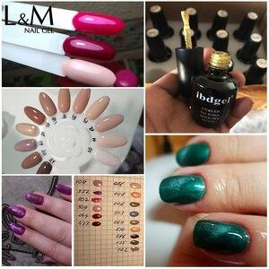 Image 5 - Ibdgel pulidor de uñas brillante, esmalte de uñas en Gel UV bonito, 15ml, 12 Uds.