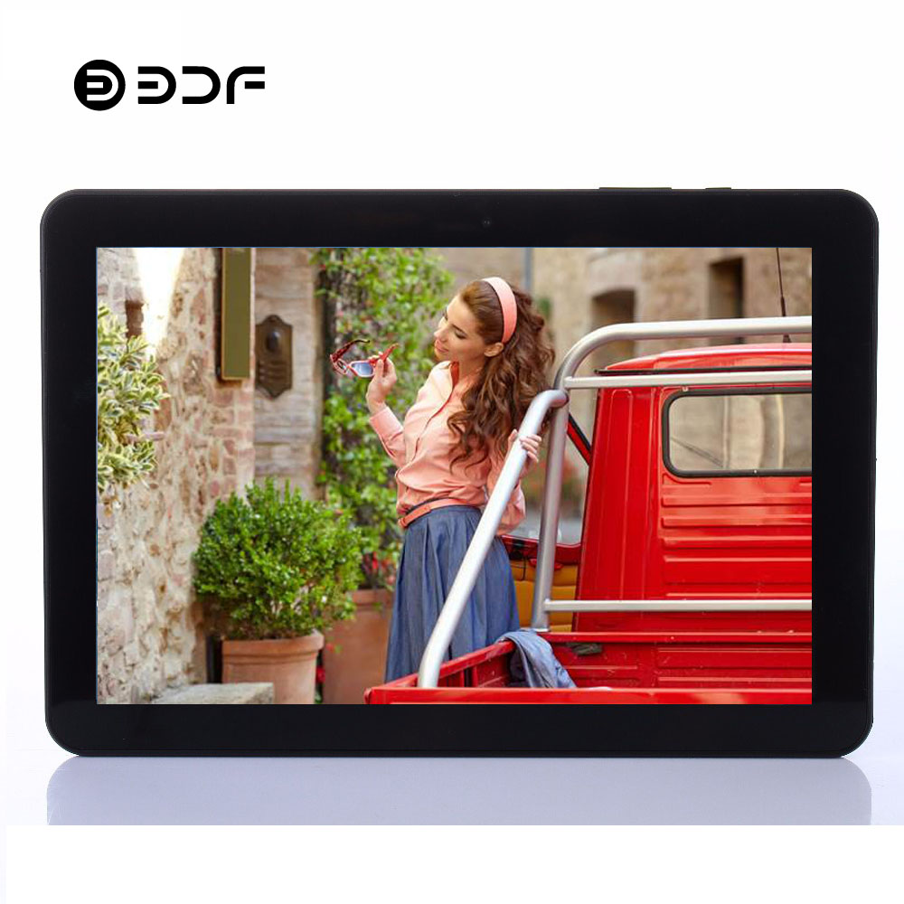 10 Inch Android 9.0 Tablet Pc Android Tablet Ten Core 8GB+128GB 3G 4G Phone Call SIM Card WiFi Bluetooth GPS 2.5D Glass Screen