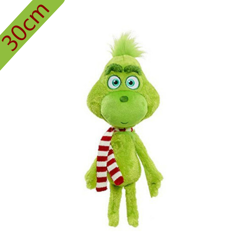 30cm Grinch Plush Toys Max Dog Plush Doll Toy Soft Stuffed Toys For Children Kids Birthday Festival Gifts