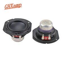 Ghxamp 2 inch 4ohm 10W Full Range Speaker Neodymium Long Stroke Protable Bluetooth Speaker 2.0 Desktop DIY 20W 1 Pairs
