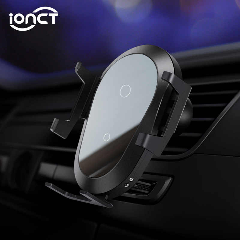 iONCT 10W Fast Wireless Car Charger For IPhone 11 XS XR X 8 Qi Charging stand Mount Gravity Car Phone Holder for Samsung S10 S9 image