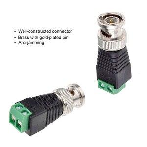 Image 3 - Gratis Verzending Bnc Connectoren Voor Ahd Camera Cvi Camera Tvi Camera Cctv Camera Coaxiale/Cat5/Cat6 Kabels