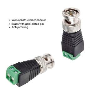 Image 3 - Kostenloser versand BNC Anschlüsse für AHD Kamera CVI Kamera TVI Kamera CCTV Kamera Koaxial/Cat5/Cat6 Kabel
