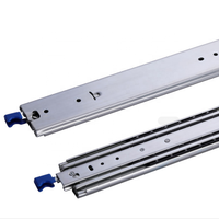 800mm Heavy Duty 225kg Locking Drawer Draw Slides Glide Rails Industrial Runners