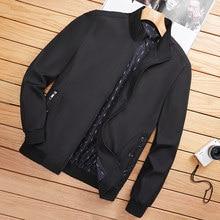2021 Spring New Men's Bomber Zipper Jacket Male Casual Streetwear Hip Hop Slim Fit Pilot Coat Men Clothing Plus Size 4XL 5XL 6XL