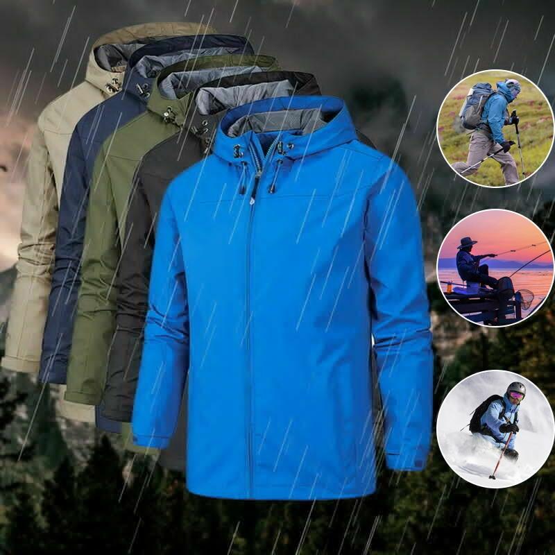 Outdoor Winter Jacke Männer der Herbst Dünne Softshell Wasserdichte Jacke Sport Windjacke Winddicht Atmungsaktive Regen Jacke Fleece