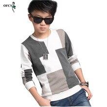 Fashion New Hot Sale Autumn Boys Sweater Cotton T-Shirt Blaz