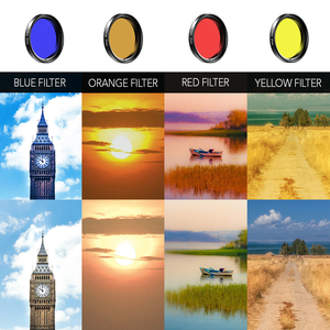 Image 4 - APEXEL 7in1 Full Filter Lens Kit Full Red Yellow Color ND32 CPL Star Camera Lens Filter With 37mm clip for smartphones 37UV F