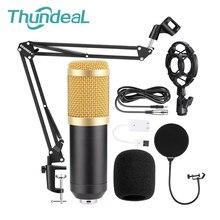 Micrófono condensador profesional BM800, Micro micrófono de grabación con cable bm 800, Karaoke, KTV, Braodcasting, estudio