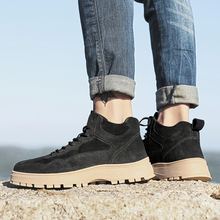2020 Mens Shoes Suede Casual Natural Shoes Male Retro Outdoor Shoes Slip On Flat Shoes For Men Travel Driving Zapatos De Hombre suede slip on mens shoes