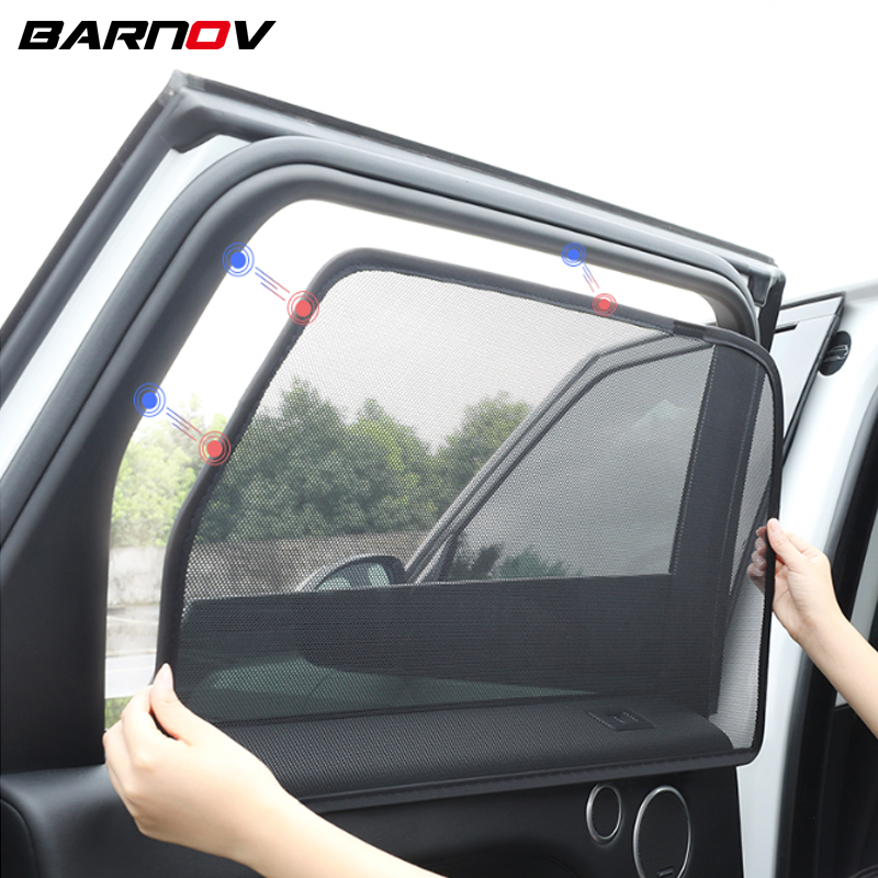 Car Special Magnetic Curtain Window SunShades Mesh Shade Blind Original Custom For Ford Mondeo Escort Ecosport Kuga
