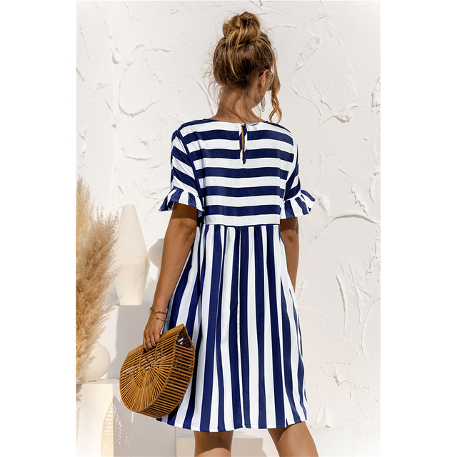 striped country dress 3