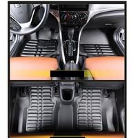 lsrtw2017 leather car floor mats for honda city 2008 2009 2010 2011 2012 2013 2014 2015 2016 2017 2018 2019 accessories carpet