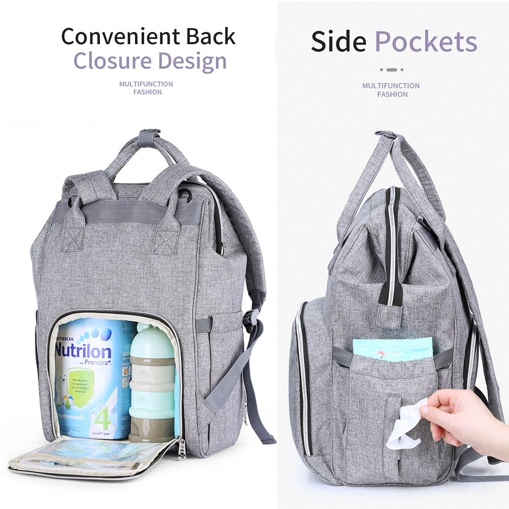 Insular Diaper Bag Baby bags For Mom Maternity Nappy Backpack Mummy Bag Waterproof Baby Backpack For Stroller Nursing Diaper Bag
