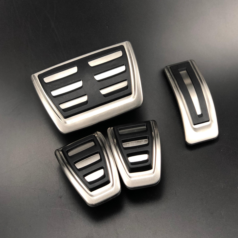 RS5/8T Q5/8R SQ5/A6/C7/A7/S7/S6/4/G A8/S8/A8L 4h accesorios S5 AT /& Mt Fuel Pedal de freno Pedales para A4/B8/S4/RS4/Q3/A5