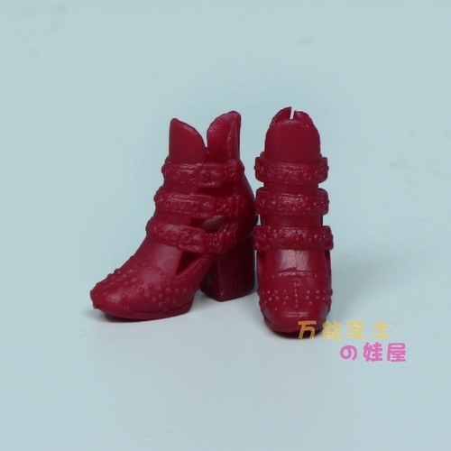 1/6 Doll Accessories Fashion Sneaker Flat Shoes Genuine Sandals Shoeshigh-heeled shoes for Barbie Doll Shoes 6