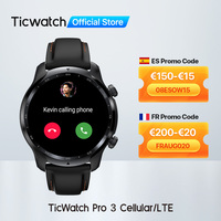 TicWatch Pro 3 LTE usar OS Smartwatch Vodafone DE/Reino Unido DE los hombres reloj deportivo Snapdragon Wear 4100 8GB ROM 3 a 45 días la vida DE la batería