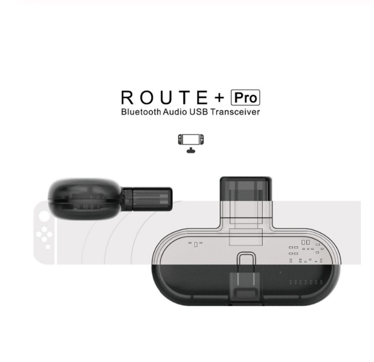 Gulikit Route+ Pro Bluetooth Audio Adapter Wireless Transceiver USB C Adapter For Nintend Switch PC Support in-Game Voice Chat(China)