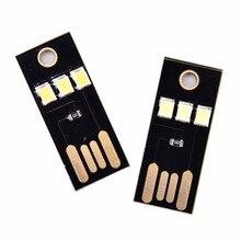 Качество 2835 чипы карманные карты лампа мини USB Мощность светодиодный светильник ультра низкая Мощность Портативный Ночной лагерь встраива...