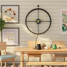 Simple European Mute Wall Clock Modern Design Home Office Decoration Gifts Crafts Ornaments Gift