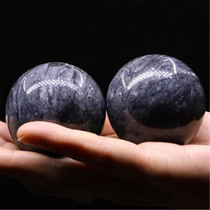 Hand-Massage Baoding-Balls Relaxation Jade Fitness Health Natural 50mm Exercise-Stress