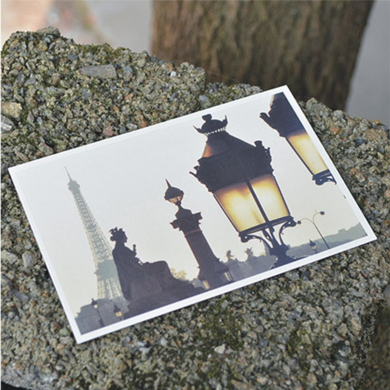 30 Sheets/set Vintage Post Card Cute Paris Landscape Postcard Set Greeting Card Wish Card Letter Paper Card Gift Cards
