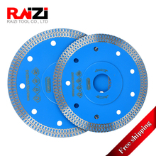 Raizi 115/125mm Diamond Porcelain Tile Saw Blade with Mesh Turbo Rim Segment Circular Disc For Cutting Ceramic Granite Marble z lion 5 125mm diamond cutting disc ceramic tile porcelain marble circular saw blade for angle grinder super thin cutting disc