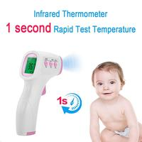 Non Contact Digital Infrared Electronic Thermometer Medical Ear Frontal Temperature Body Gun Accurate Thermometer For Home