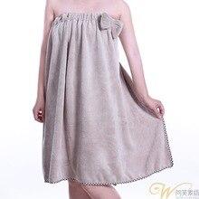 Ночная рубашка осень и зима стиль банный халат спортивный костюм приятная для кожи Коралловая бархатная Пижама банная юбка женская