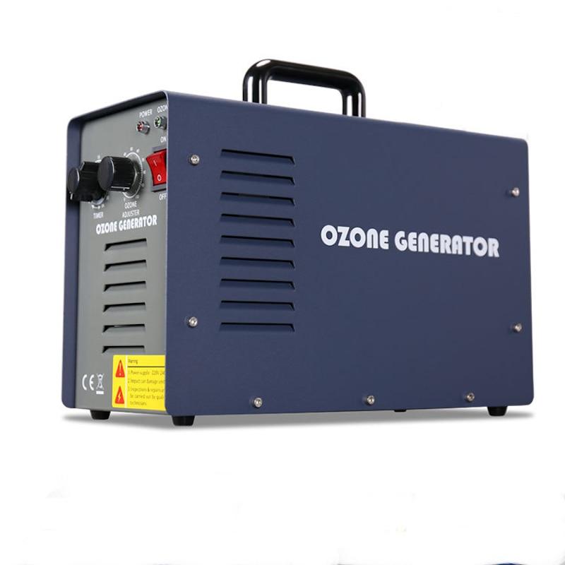 7G/H AC220V EU Plug Portable Ozone Generator Machine Air Purification Water Sterilization Ozone Sterilizer Deodorizer Ozonator