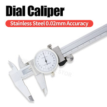 Dial Caliper Metal Vernier Caliper With Dial Indicator Stainless/Carbon Steel Gauge Measuring Tools Micrometer Pied A Coulisse