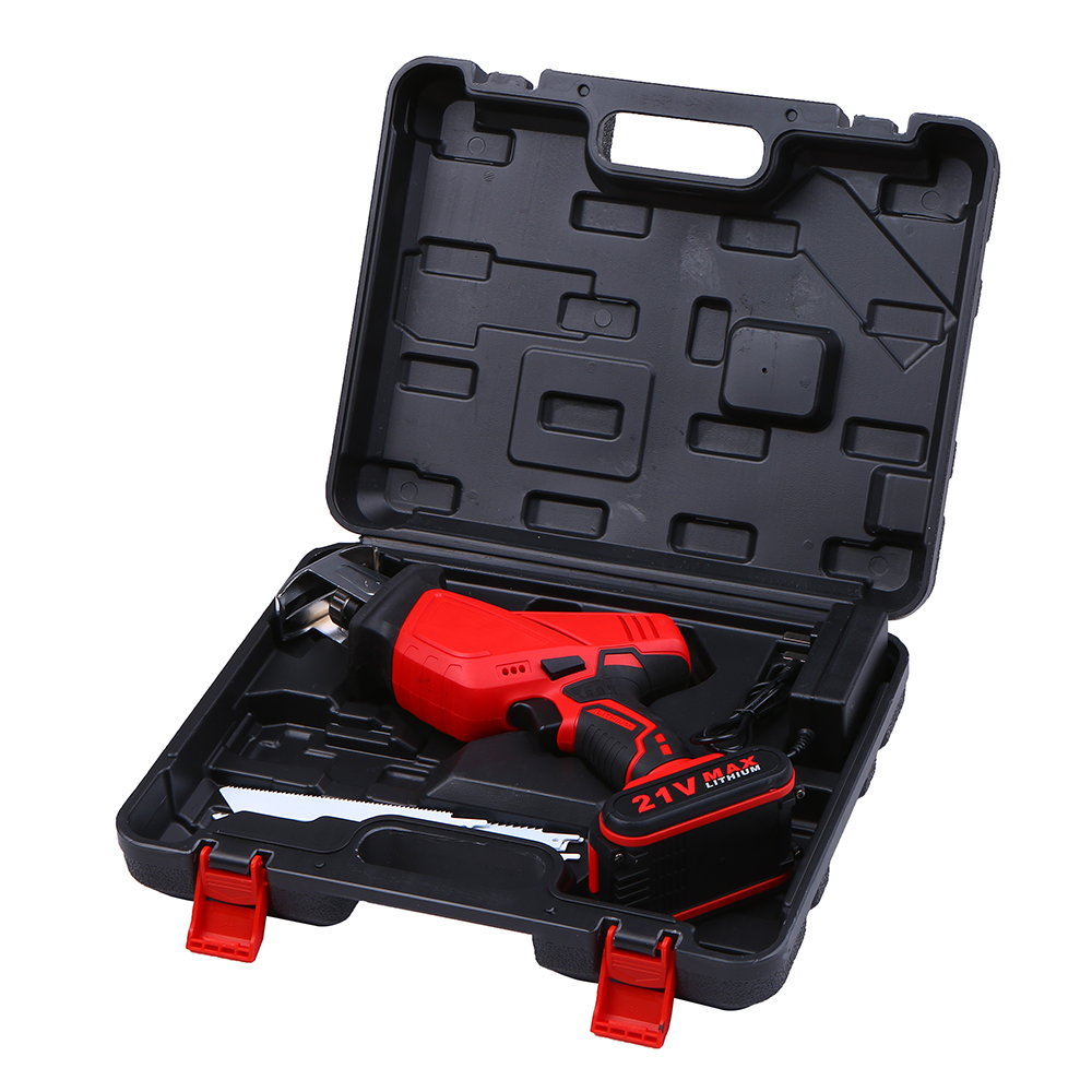 Portable Handheld Mini Electric Reciprocating Jig Saw 3500mAh Rechargeable Small Sawing Machine Felling Chainsaw Wood Cutter