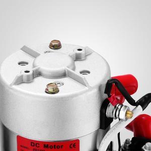 Image 5 - 6 Quart Single Acting Hydraulic ปั๊ม Dump Trailer 12V Lift Reservoir