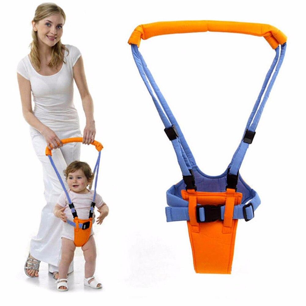 Baby Safe Balance Walking Learning Assistant Belt Solid Babies Toddler Carries Kids Keeper Adjustable Safety Strap Wing Harness