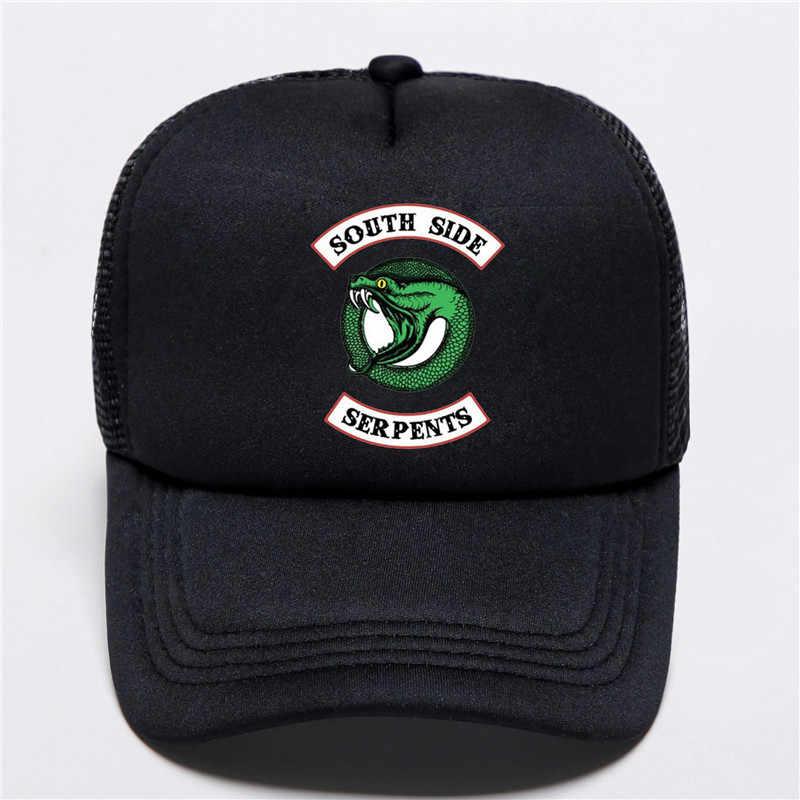 Le film cosplay Riverdale saison 4 chapeau Archie Andrews casquette de Baseball visière southside serpents imprimé chapeau décontracté unisexe adulte chapeau