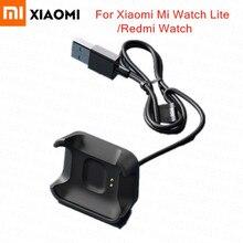100% המקורי Xiaomi Mi שעון Lite טעינת כבל נתונים USB טעינת בסיס Xiaomi Mi שעון לייט הגלובלי גרסה Redmi שעון מטען