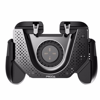 PUBG Game Controller Gamepad Joystick L1 R1 Cooling Fan Metal Trigger Free Fire Shooting Gamepad For IOS Android Mobile Phone