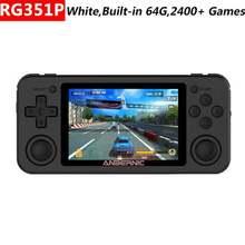 Новая консоль для ретро игр rg351p anbernic rk3326 операционная
