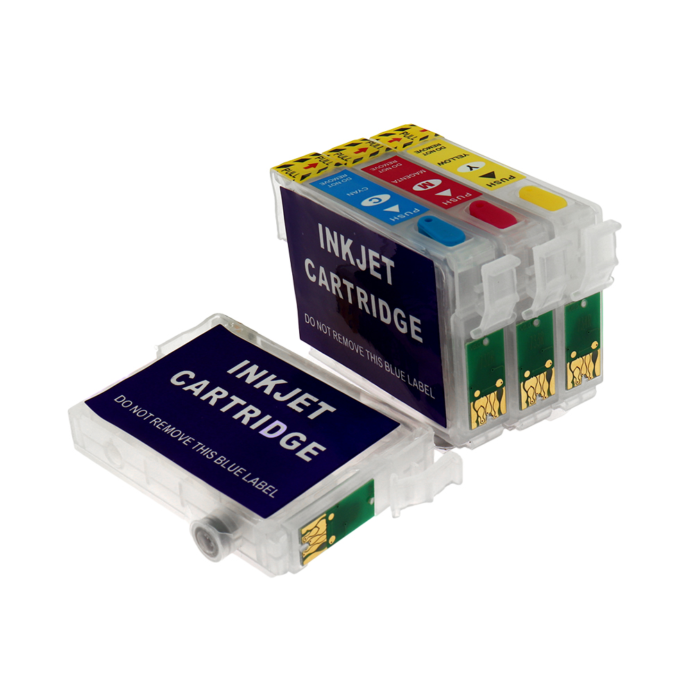 T1291-T1294 Ink Cartridge For <font><b>Epson</b></font> T1291 Refillable Ink Cartridge For <font><b>Epson</b></font> SX420W SX425W SX435 SX438W SX440W <font><b>BX305</b></font> Printer image