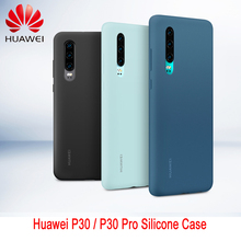 オリジナル huawei 社 P30 P30 プロケース huawei 社公式液状シリコーン保護カバーマイクロファイバー insided p 30 1080p 30Pro ケース