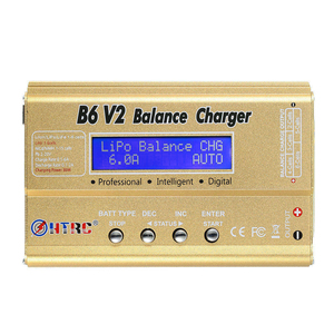Image 2 - HTRC Imax B6 V2 80W 6A RC Balance Charger For LiIon/LiFe/NiCd/NiMH/High Power Battery LiHV 15V 6A AC Adapter IMAX Charger