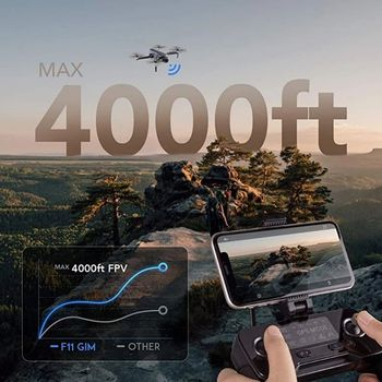 2021 NEW F11 PRO 4K GPS Drone With Wifi FPV 4K HD Camera 2-axis Anti-Shake Gimbal F11S Brushless Quadcopter Vs SG906 Pro 2 Dron 3