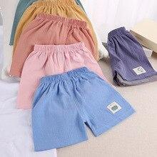 Short-Trousers Sports Casual Beach-Pants Baby Baby-Boys-Girls Kids Summer Children New