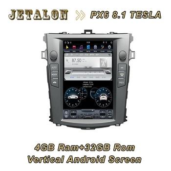 Coche inteligente Android pantalla Vertical para Toyota COROLLA 1024*768 de alta resolución de 4GB de ram 32GB rom Carplay DSP HDMI navegación